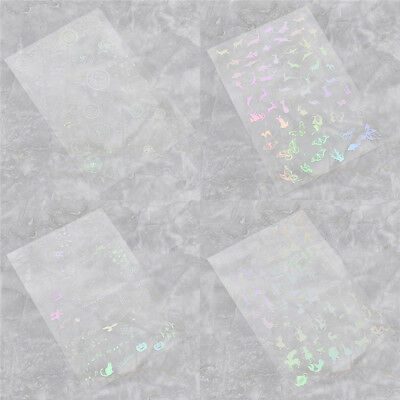 Holographic Material Magic Array Deer Butterfly for DIY Making Gift Accessory