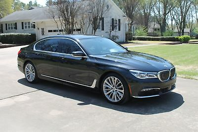 BMW 750i 750i 1 Owner MSRP $108415 One Owner Perfect Carfax Only 8k Miles MSRP New $108415