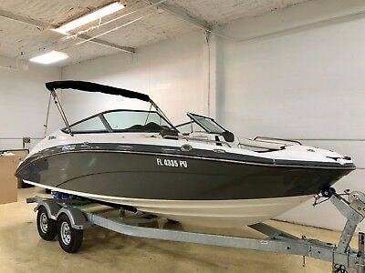 2015 Yamaha 212Ss High Performance Luxury Jet Boat (48 Hrs) Warranty New Trailer