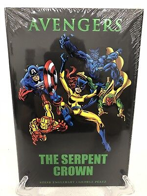 Avengers The Serpent Crown #141-144 #147-149 Marvel Comics HC Brand New Sealed