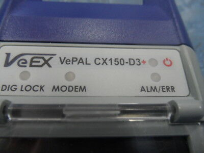 VeEX Vepal CX-150+ D3 Triple Play Cable Meter, Great Condition !!!
