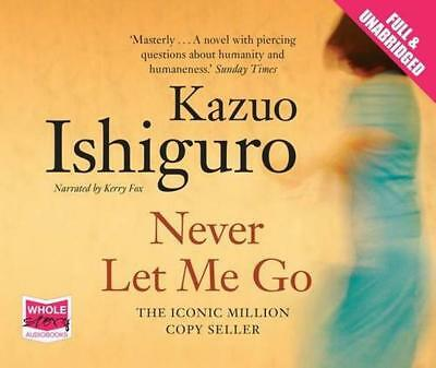 Never Let Me Go (Unabridged Audiobook) by Kazuo Ishiguro | Audio CD Book | 97814