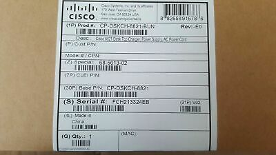 NEW! Cisco Docking Cradle for Ip Phone Charging Capability CP-DSKCH-8821
