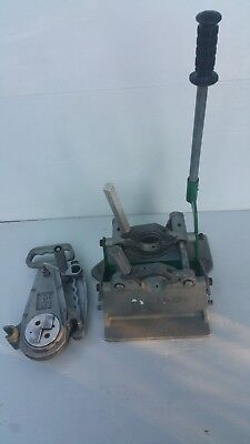 """McElroy 2"""" 2LC Pitbull PE Poly Pipe Weld Butt Socket Fusion Machine (No Heater)"""