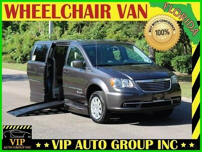 Chrysler Town & Country Touring 2016 Chrysler Handicap Mobility Wheelchair Van BraunAbility XT Power Side Ramp