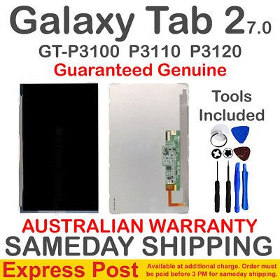 Samsung Galaxy Tab 2 7 inch P3100 P3110 ZVLT469 LCD Screen Display + Tools 7.0