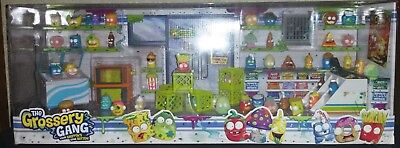 GROSSERY GANG Garbage Gross Food Figures Toys Collection Lot Store Display RARE
