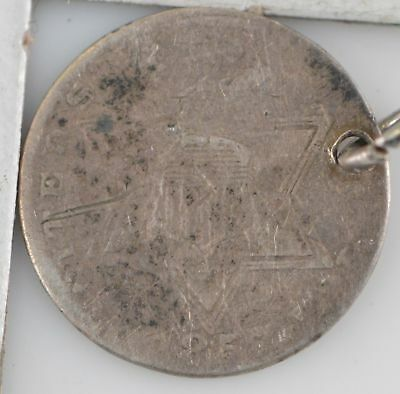 1850s Silver Three-Cent Piece *811