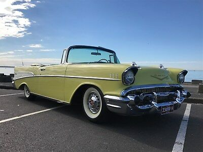 1957 Chevrolet Belair Convertible Rare optioned  PRICE DROPPED!!