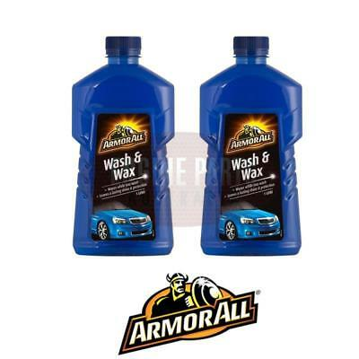 Armorall Wash & Wax 2X 1 Litre Bottles AWW1/6.3A #390