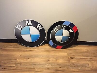 "24"" BMW Aluminum Signs"