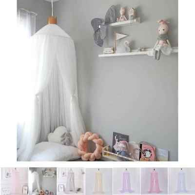 Round Baby Insect Dome Bed Mosquito Net Kids Bedding Canopy Curtain Princess Net