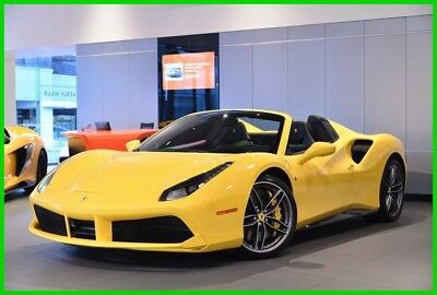 Ferrari 488 Spider  2016 FERRARI 488 SPIDER ***MASSIVE OPTION LIST***