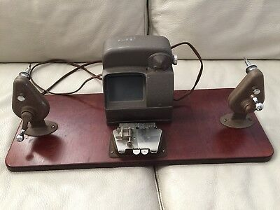 Vintage Baia Hollywood Stainless SPLICER 8MM-16MM with light and Craig rewinds