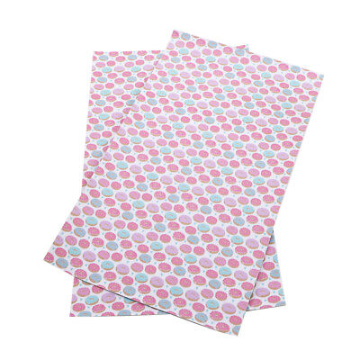 20*34cm Printed PU Synthetic Leather Fabric Sheets DIY Handmade Craft Hair Bows