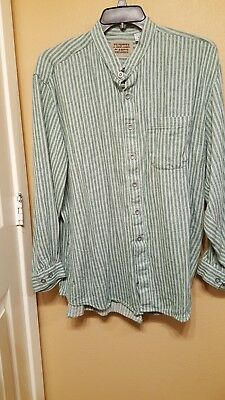 Frontier Classic Old West Clothing, Men's Shirt, XL, Used