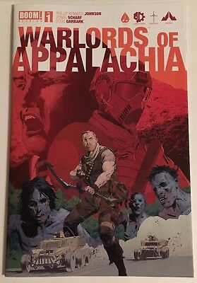 Warlords of Appalachia #1 (2016) (9.0) (1st Print) (Cover B)