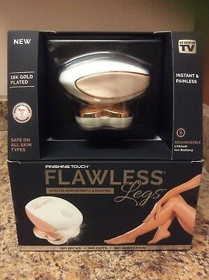 Finishing Touch Flawless Legs Hair Remover Pain Free ASOTV  NIB USA Seller