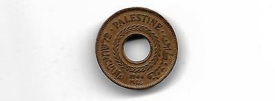 Palestine 1944 5 mils high grade coin