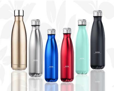 Insulated Drink Bottle Water Stainless Steel Double Wall Thermal Vacuum Flask
