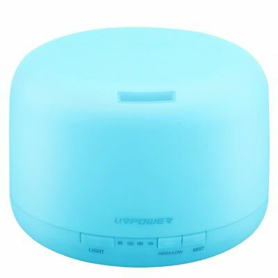 URPOWER 500ml Aromatherapy Essential Oil Diffuser Humidifier Room Decor Lighting