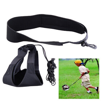 Football Kick Trainer Practice Training Aid Equipment Waist Belt Solo Soccer