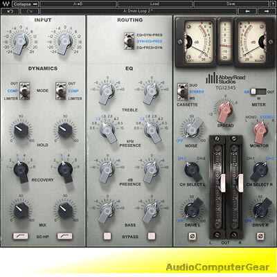Waves EMI TG12345 Abbey Road Channel Strip Audio Software Plug-in NEW