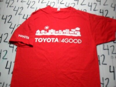 Large- Front And Back Print Toyota For Good T- Shirt