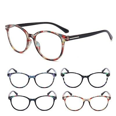 Round Reading Glasses Men Women Clear Lens Eyewear 1.0 to 4.0 Eyeglasses