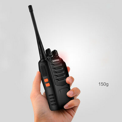 Baofeng Hand-Funkgerät Walkie Talkie Set BF-888S UHF 5W 16CH CTCSS/CDCSS Radio