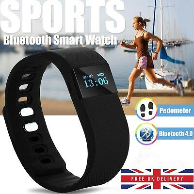 Smart Kids Pedometer Activity Tracker Wrist Watch Fitness Step Calorie Counter