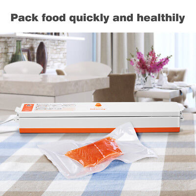 Electrical Food Vacuum Sealer Packing Machine for Home Kitchen+15x Packaging Bag