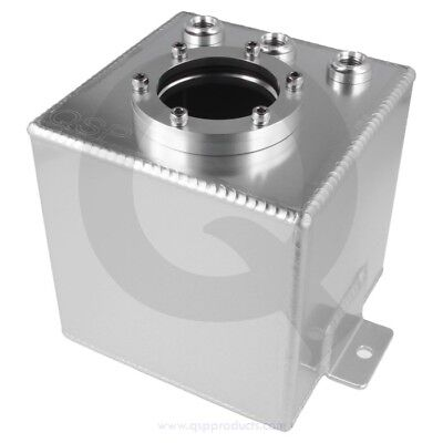 Alloy fuel / injection catchtank Silver 1 L