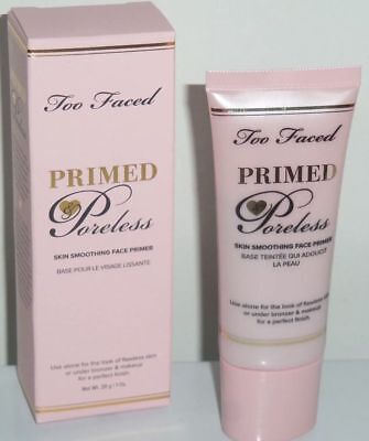 NEW Too Faced Primed Poreless Skin Smoothing Face Primer *SHIPS SAME DAY* NIB!