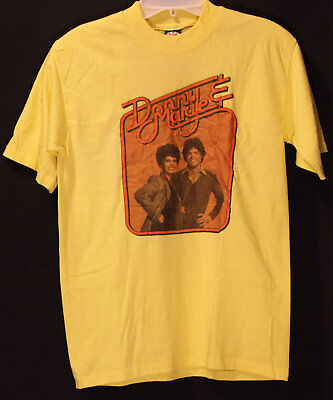 VINTAGE Donny and Marie Osmond T-Shirt 1970's Concert Tour Rare Medium New Used