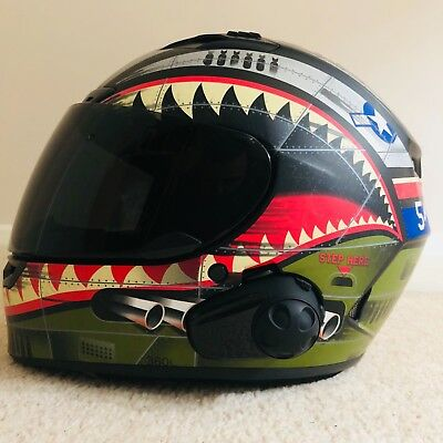 23448aa9 Bell Qualifier Dlx Devil May Care Matte Motorcycle Helmet Smh10 B