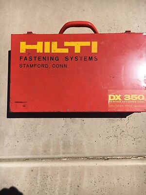 Hilti DX350 Fastening System Tool Powder Actuated
