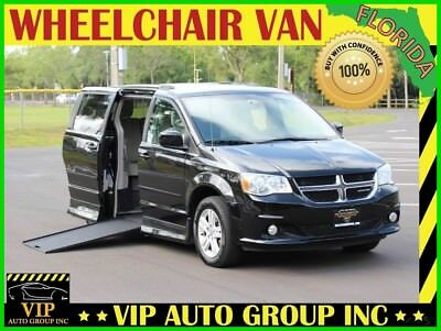 Dodge Grand Caravan Crew 2012 Dodge Handicap Wheelchair Van Mobility Side Entry Power Ramp