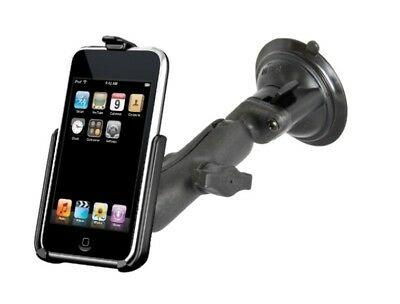 Suction Cup Car Suv Truck Mount Kit Fits Apple iPod touch 2nd & 3rd Generation
