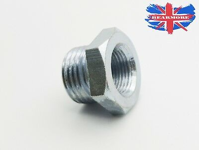 Metric Threads male x Female Reducer bush Air Water Steel Hex Joiner Connector