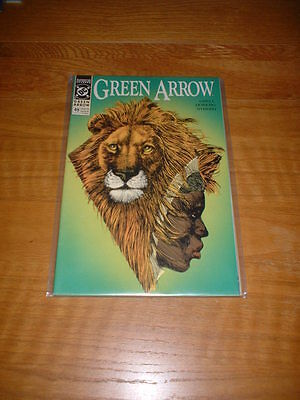 Green Arrow 49. Nm Cond. July 1991. Grell / Hoberg / Nyberg. Dc Comics