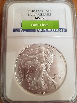 2010 Silver Eagle Early Releases MS69