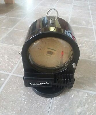 Vintage Bacharach Tempscribe 7 day Movement Temperature Chart Recorder 14-7030