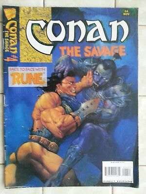 Conan the Savage # 4 Face to Face with Rune ! ( Conan the Barbarian )