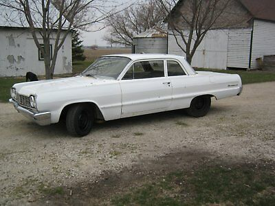 1964 Chevrolet Bel Air/150/210  1964 chevy biscayne belair impala hot rat rod gasser drag project super stock
