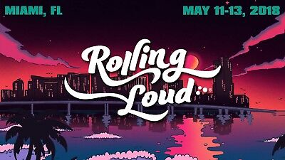 Rolling Loud Ticket - 3 Day General Admission LOW PRICE