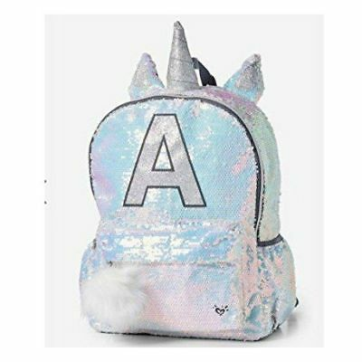 "NWT Justice girls sparkly UNICORN Backpack CHOOSE ""D"" ""P"" ""T""  ""C""  SOLD OUT"