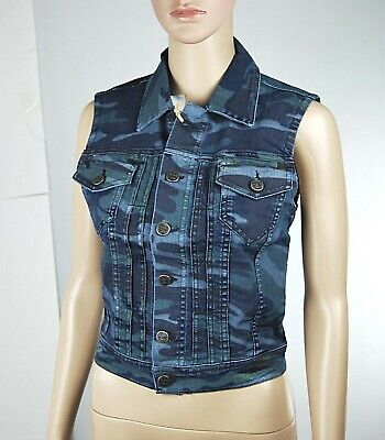 Giacca Jeans Giubbino Donna Gilet TWENTY EASY by KAOS Made in italy H228 Tg S M