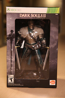 Dark Souls II Collector's Edition Xbox 360 Statue Black Armor Map 2014 Game New