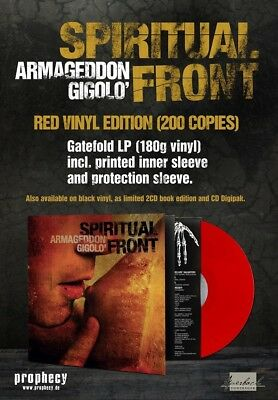 SPIRITUAL FRONT Armageddon Gigolo - LP / Red Vinyl - Limited 200